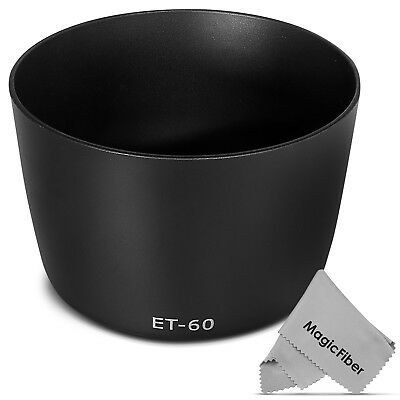 Dedicated Lens Hood for Canon EF 75-300MM f/4-5.6 III USM EF-S 55-250MM as ET-60
