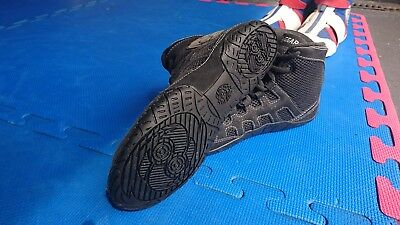 clinch gear machine wrestling boots uk size 6 boxing