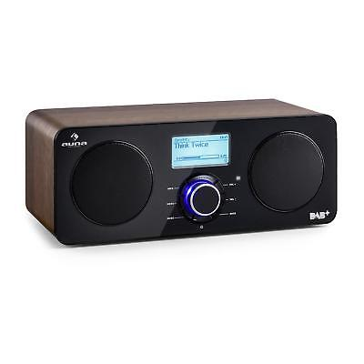 Radio internet portable Fonction Spotify Connect & Bluetooth Tuner DAB - marron