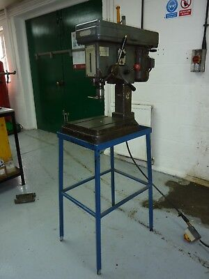 3 Phase Pillar Drill and Stand