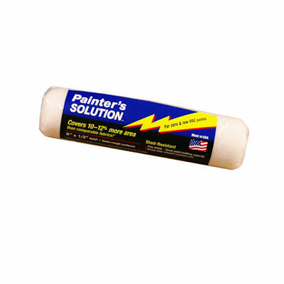"Painters Solution Roller Cover, 1/2"" Nap, 9"""