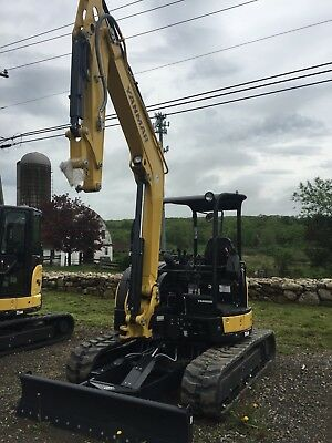 "Yanmar Vio55-6A Mini Excavator With Bucket ""DEMO"" Model"