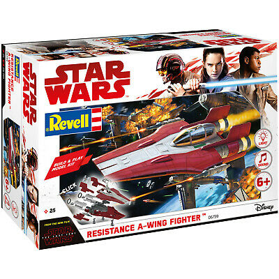 REVELL Resistance A-wing Fighter, red