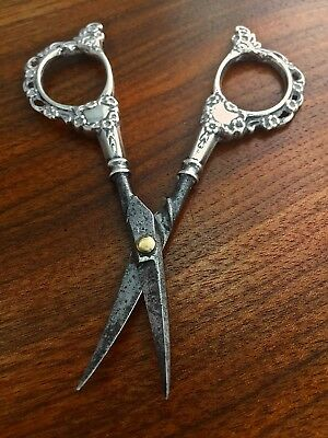 Foster & Bailey Sterling Silver Handled Manicure or Sewing Scissors