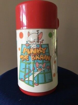 Pinky and The Brain Thermos by Aladdin Animaniacs Vintage 1996