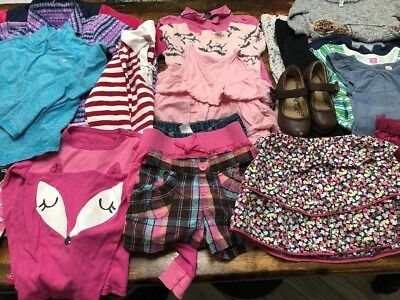Huge Lot Girls 5T Summer Fall Clothes