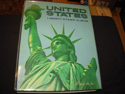 Us Collection In Liberty Stamp Album-1847-1986!