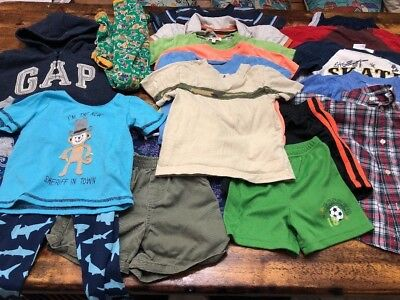 Huge Lot Boys 2T Summer Clothes