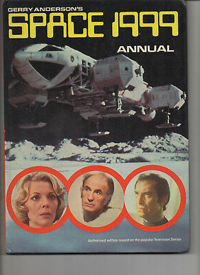 Space 1999 Annual 1975 Very Fine Uk Hard Back Book