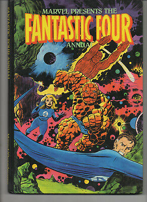 Fantastic Four Annual 1981 Uk Hard Back Book