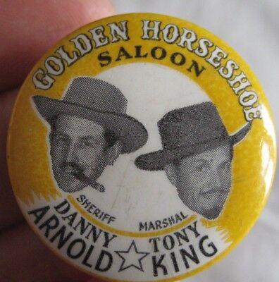Sheriff Danny Arnold Wild West Show Vintage 1960s Holiday Camps Etc Pin Badge 19 99 Picclick Uk