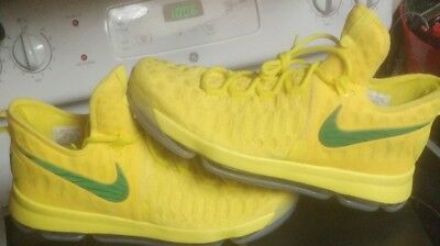 9ef3a467134 Nike KD IX 9 Oregon Ducks Promo Sample PE Player Exclusive size 13.5 jordan  13 1