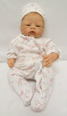 Vinyl Head & Limb Baby Girl Doll, Cloth Torso, with Outfit