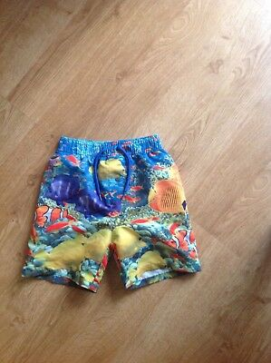 BOYS MOTHERCARE SWIMMING TRUNKS AGE 3/4 years