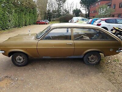1973 vauxhall viva estate project restoration many spares and 3 engines