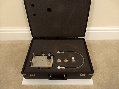Agilent / HP / Keysight 43961A RF Impedance Test Kit with Case from working lab