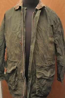 "Ultra Rare Barbour A1005 Ventile Endurance Military Jacket Green 38"" / 97Cm"
