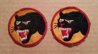 U.S. 66th.Infantry Div.,WWII VINTAGE Patches (2),1941-45