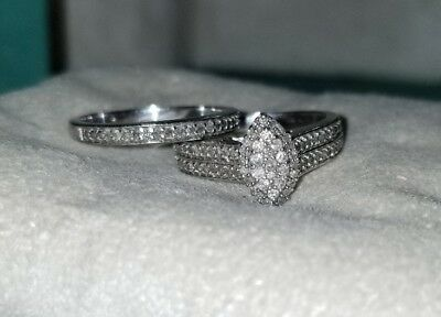 Kay Jewelers Pave Diamond Sterling Silver Engagement Wedding Band