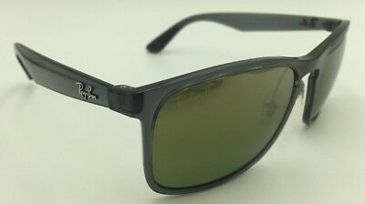 047a03effa5 RAY-BAN RB 4264 876 6O Grey w  Green Chromance Polarized Sunglasses ...
