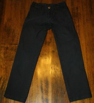 Fred Bare Boys Straight Leg Black Jeans / Pants.  Size 6.  In Vguc