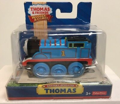 Thomas & Friends Wooden Railway Motorized Battery Operated Thomas Engine , New