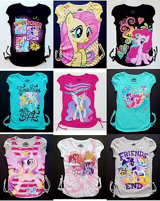8c4d31bfb9e19 MY LITTLE PONY Fashion Cotton Tops Tees T-Shirt NEW Girls Size 4, 5, 6 or  6X $18
