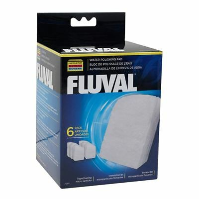 Fluval Polishing Pad for 304/5/6 - 404/5/6 (6 Pack) *Genuine* Filter Media