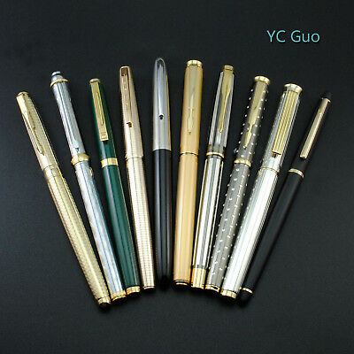 10X Vintage Classic Wing Sung Fountain Pens With 10 Models For Collection