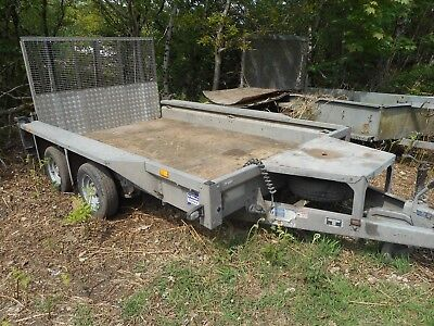 Ifor Williams Gx106 Plant Digger Trailer With Ramp C2209