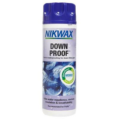 New Nikwax Down Proofer 300Ml Fabric Washing Treatment Cleaning