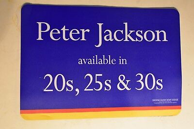 Vintage Peter Jackson Place-Mat ,double Sided