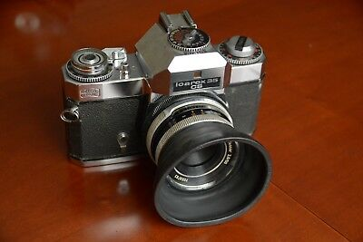 Zeiss Ikon icarex 35 med con 50mm 1:2,8 Tessar