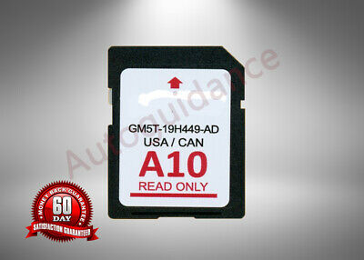 A10 Ford Lincoln Us Canada 2018 Navigation Sd Card Map Update Gm5T-19H449-Ad