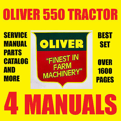 Oliver 550 series tractors service manual parts catalog repair oliver 550 series tractors service manual parts catalog repair manuals cd dvd 2999 picclick fandeluxe Choice Image