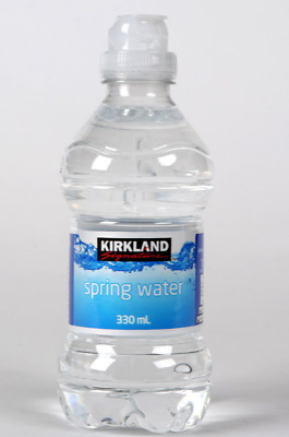 KIRKLAND SIGNATURE SPRING Water Natural Sports Cap 40 x 330ml Bottle Pack