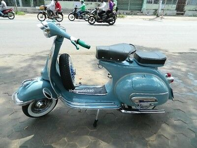 1963 Vespa VBB150 Sportiquer Deluxe - Fuy Restored./ BUY IT NOW free SHIPPING.