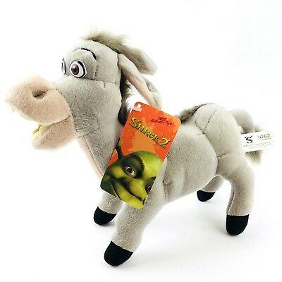 "Disney Dreamworks Shrek 2 Donkey 14"" Nanco 2004 Stuffed Animal Plush"
