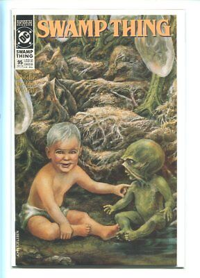 Swamp Thing #95 Nm 9.6 1990 Stunning Majestic Cover Gem