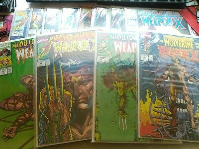 MARVEL COMICS PRESENTS 72-84 complete run.  Weapon X. Wolverine Origin Story.