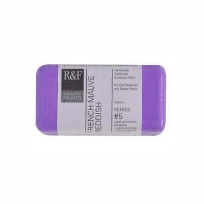 R&F Encaustic 40Ml French Mauve Reddish