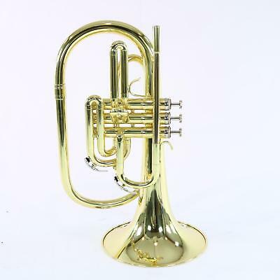 Nirschl E102LQ Marching Mellophone In Lacquer SN E000604 DISPLAY MODEL