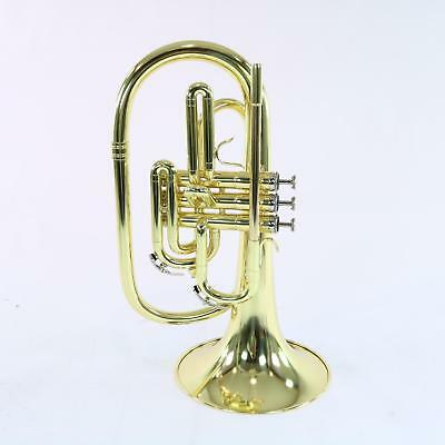 Nirschl E102LQ Marching Mellophone In Lacquer SN RE000504 DISPLAY MODEL