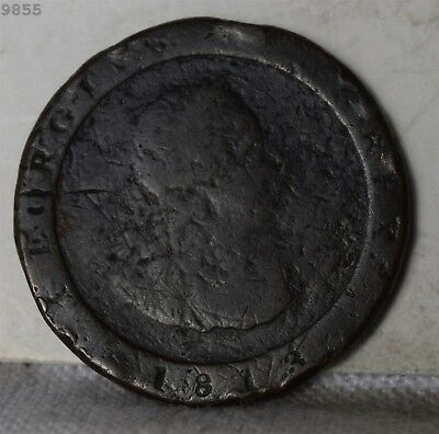 1813 Isle of Man Half Penny *Free S/H After 1st Item*