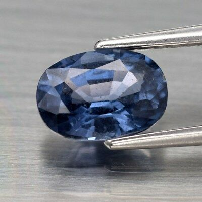 1.01ct 7x5mm Oval Natural Blue Spinel, Tanzania