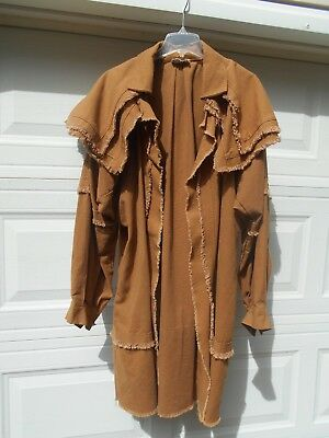 Rev War Rifleman's Frock Hunting Shirt - repro  Well-made  Double-Cape  Nice!