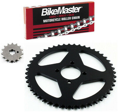 JT 420 Chain 15-48 T Sprocket Kit 71-7661 for Yamaha Chappy 50 LB50 1978-1982