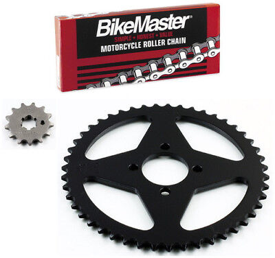 JT 420 Chain 13-47 T Sprocket Kit 71-7557 for Yamaha Chappy 50 LB50 1978-1982