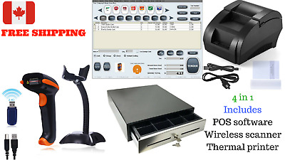 Low price Entry level POS all-inone Point of Sale System Combo Kit Retail Store