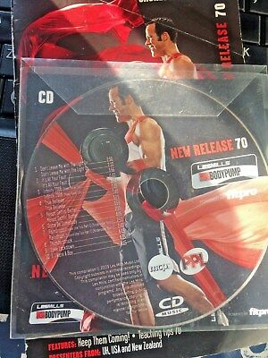 Les Mills Bodypump 70 Instructor CD and choreography Notes